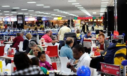 Tambo International Airport.