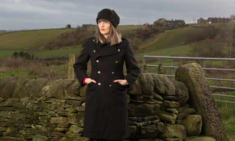 Adelle Stripe photographed near her home in Mytholmroyd.