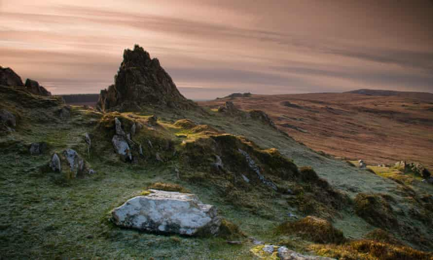 Preseli Hills in west Wales.