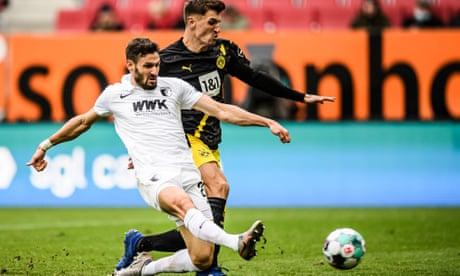European roundup: Dortmund crash to shock defeat by Augsburg