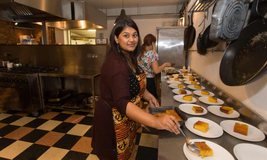 Shahnaz Ahsan plates up at one of her east London supper-clubs