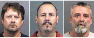 Patrick Eugene Stein, Curtis Allen and Gavin Wright face life in prison if convicted.