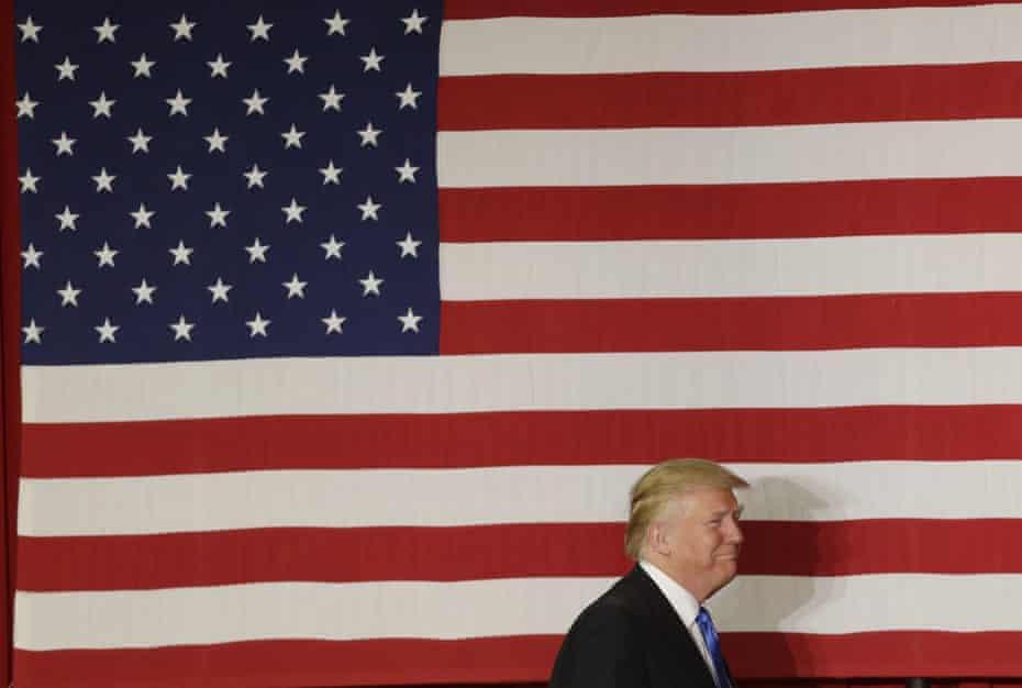 Donald Trump at a fundraiser.