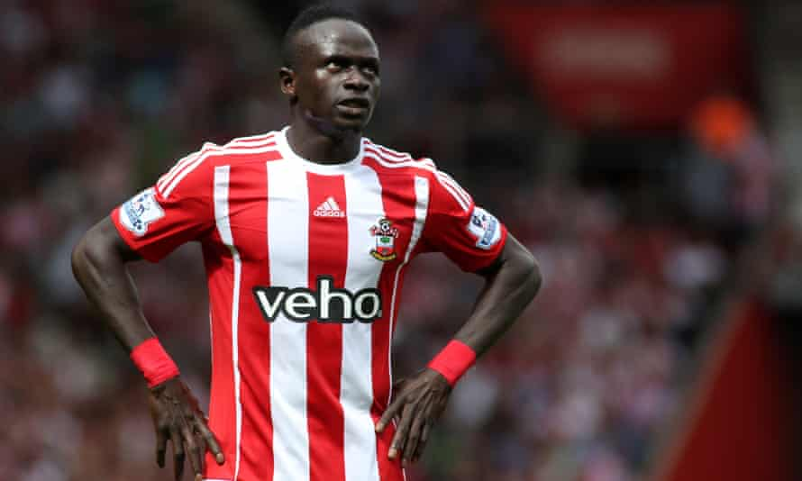 Sadio Mané, the subject of Manchester United interest.