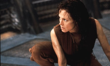 Sigourney Weaver in Alien was one of the toughest women of all, but the image is not always helpful.