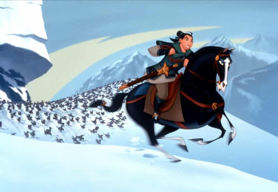 Dream big … the 1998 animated Mulan.