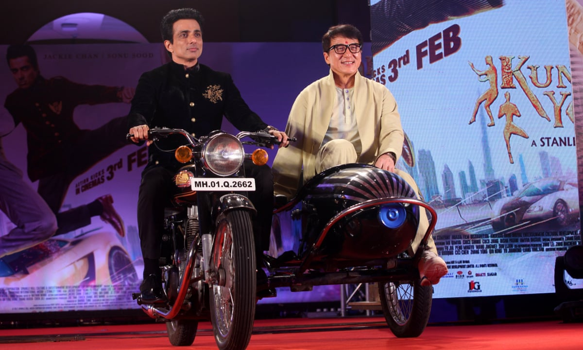 Jackie Chan Blockbuster Blasted For Indian Stereotypes Jackie Chan The Guardian