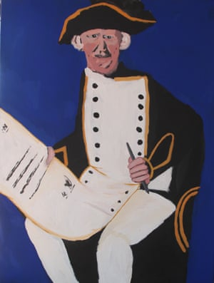 Captain Cook with the Declaration (2014)