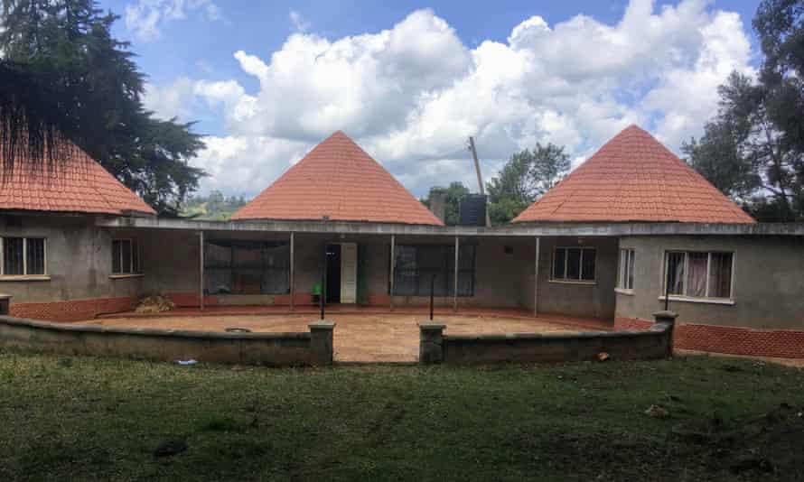 The house the author Mukoma Wa Ngugi grew up in, Limuru, Kenya.