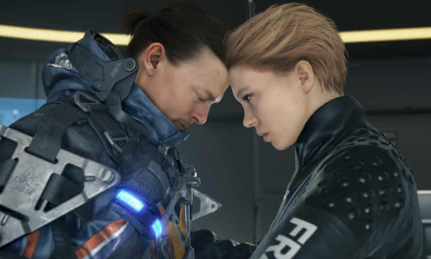 Norman Reedus and Léa Seydoux in Death Stranding.