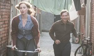 Backstreet love … Freya Mavor and David Kross in The Keeper.