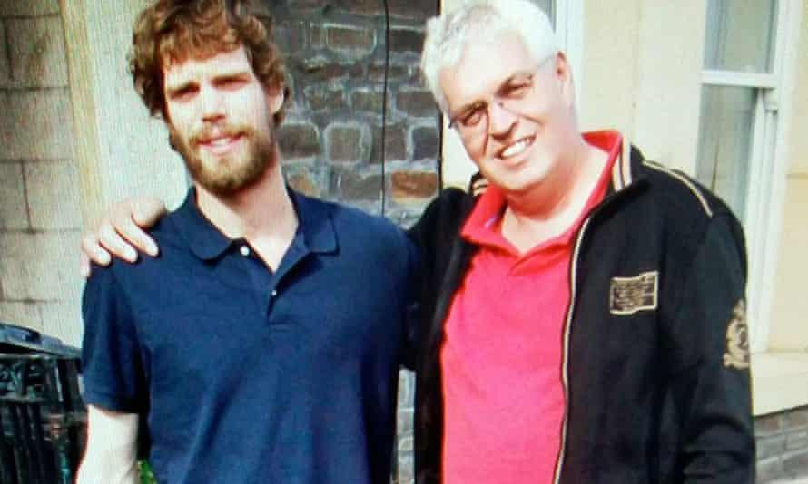Kees Van Dongen with his son Mark