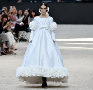 The Chanel bridal gown – the finale piece.