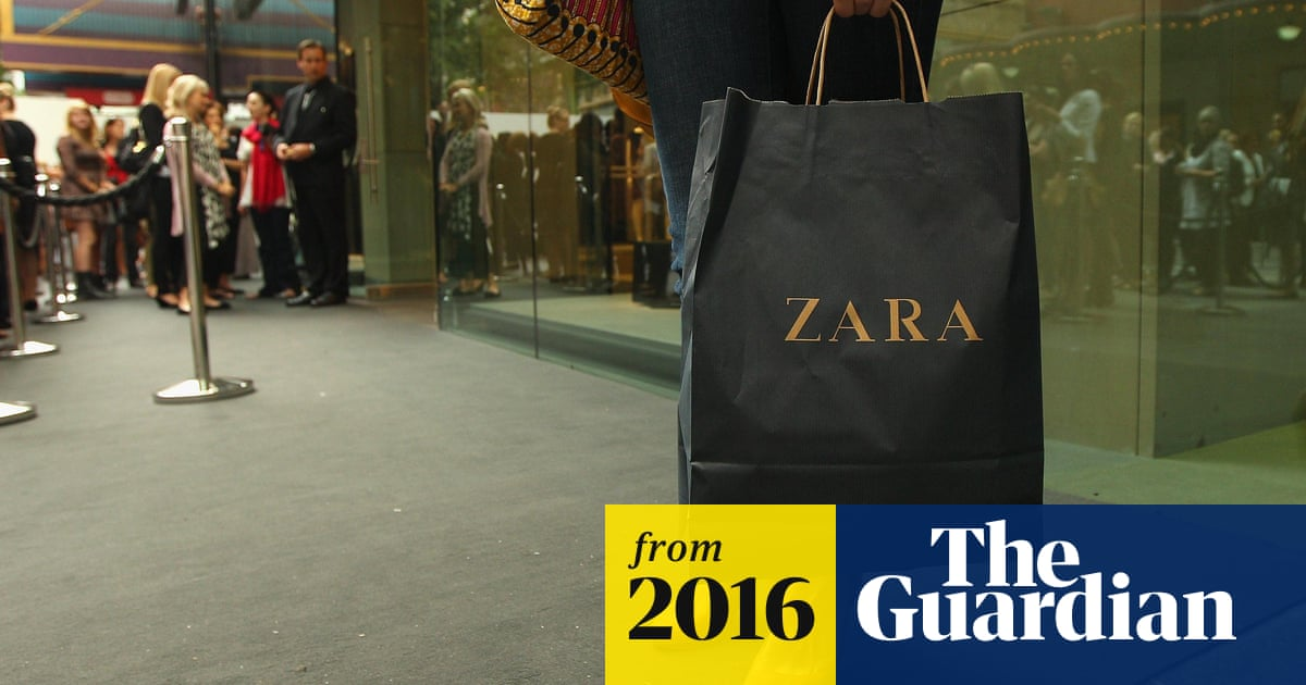 Zara profits buoyed by UK sales surge | Business | The Guardian