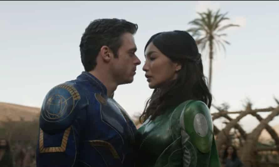 Madden and Chan in Eternals.