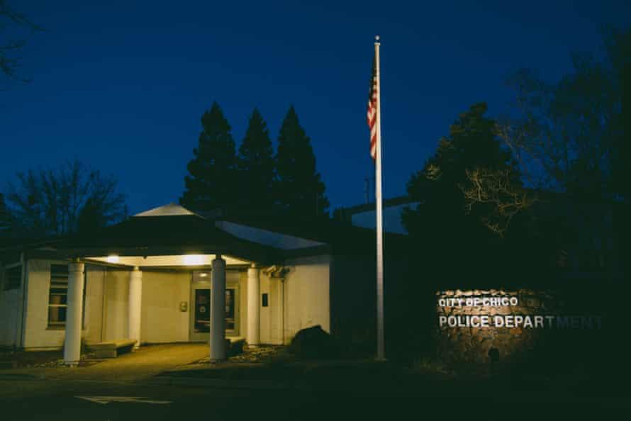 Chico police department headquarters.
