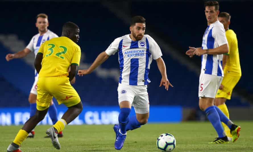 Alireza Jahanbakhsh became Brighton's club-record signing after joining from AZ Alkmaar.