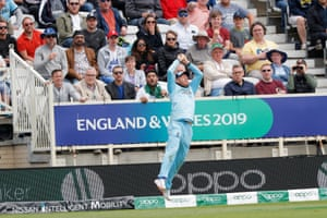 Bairstow takes the catch.