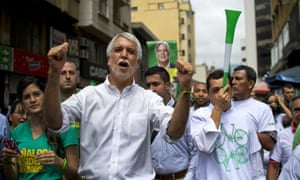 Enrique Penalosa, former mayor of Bogota and presidential candidate of the Green Alliance.