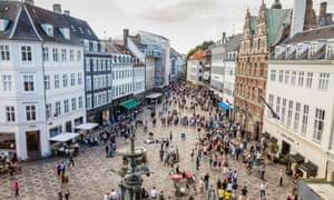 Central Copenhagen.