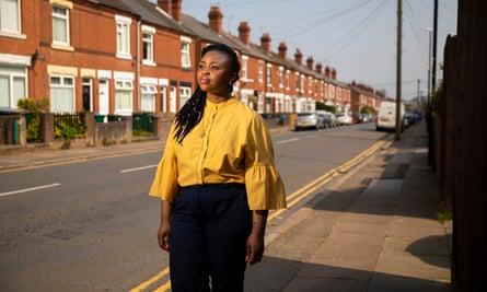Siana Bangura in Coventry.