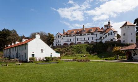 Monastery, Caldey Island, Wales, UK