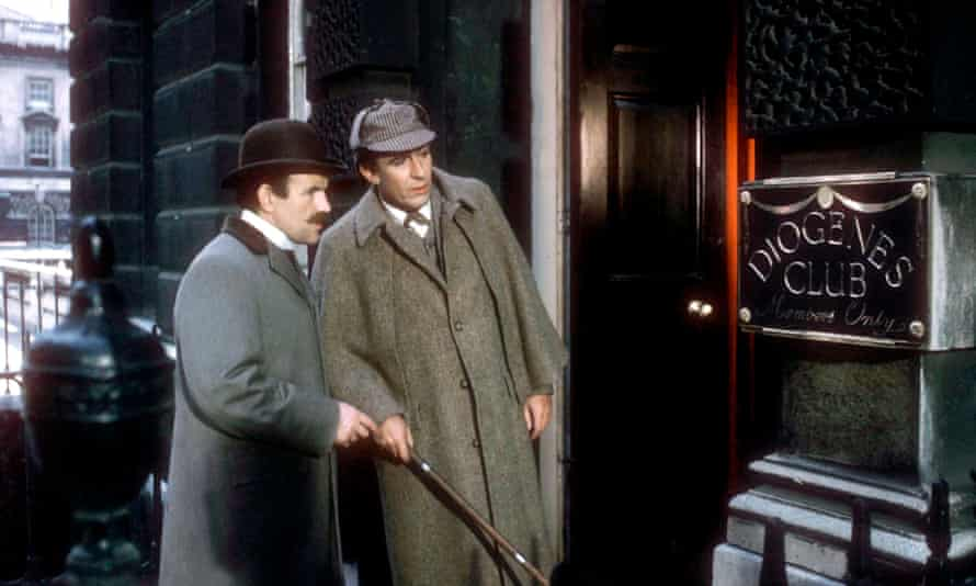 Colin Blakely and Robert Stephens in Billy Wilder's The Private Life of Sherlock Holmes (1970).
