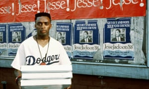 Spike Lee in Do the Right Thing.