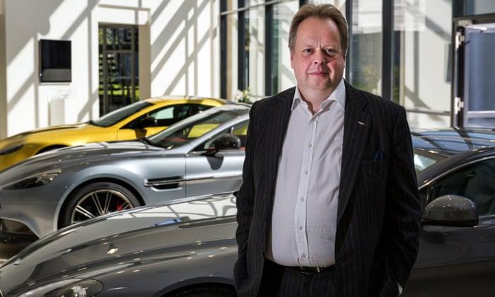 Aston Martin Chief Executive Faces Vote Against 1 2m Salary Aston Martin The Guardian