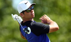 Paul Casey finished just one shot behind Rickie Fowler, carding 66 after the American had equalled a US Open record with his 65.