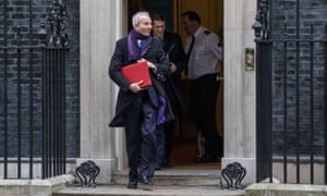 David Lidington, the leader of the house of Commons, will stand in for Theresa May at prime minister's questions.