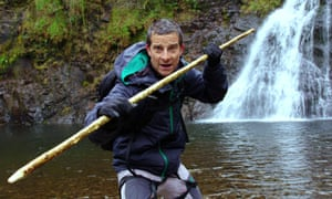 Bear Grylls on his fast-paced voyage in which you have to make decisions.