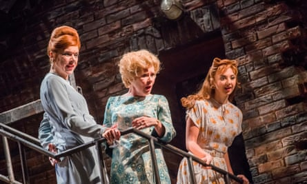 Janie Dee, Imelda Staunton and Zizi Strallen (Young Phyllis in Follies.