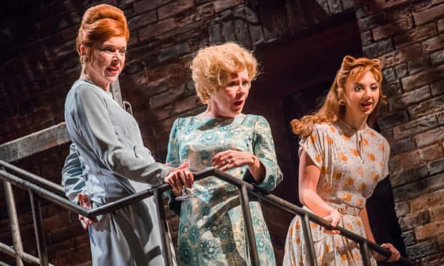 Janie Dee, Imelda Staunton and Zizi Strallen in Follies.