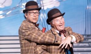 Eric Morecambe and Ernie Wise.