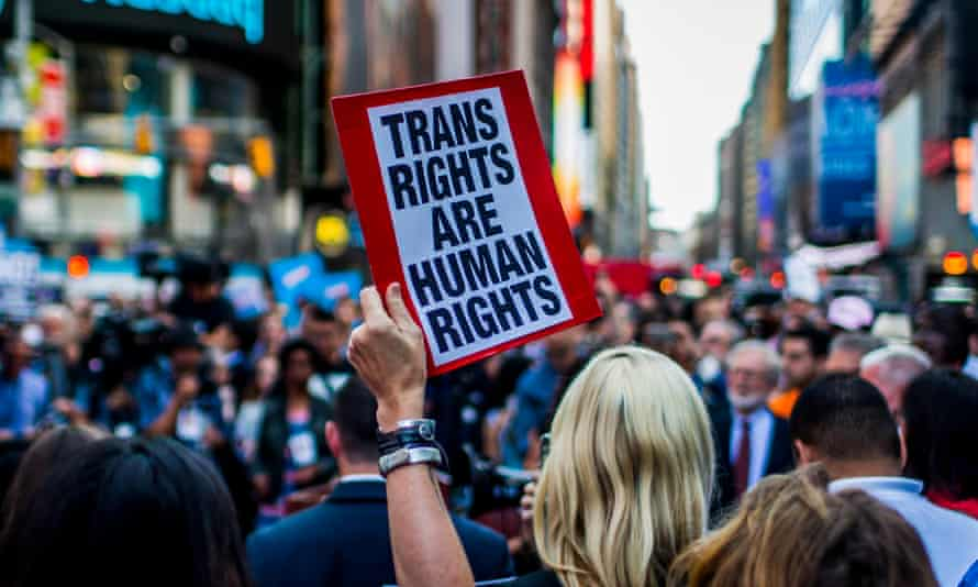 After a series of tweets by President Donald Trump, which proposed to ban transgender people from military service, thousands of New Yorkers took the streets of in opposition in July 2017.