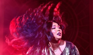 100% … Lizzo performing at Brixton Academy.