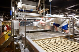 The factory will bake about 200m mince pies this year