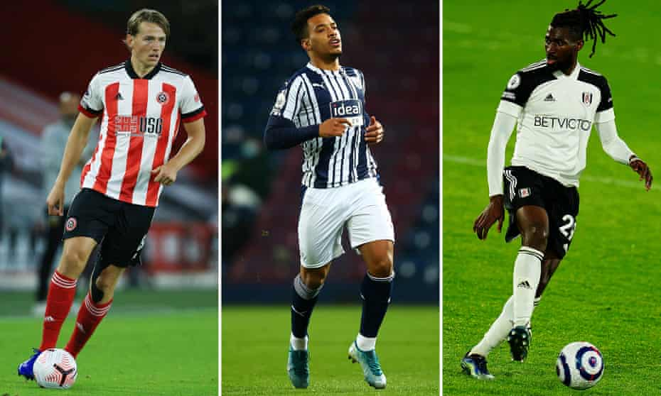 Sander Berge, Matheus Pereira and André-Frank Zambo Anguissa should be expecting calls from their agents.