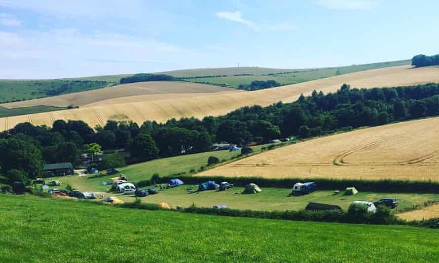 Housedean Farm Campsite, East Sussex