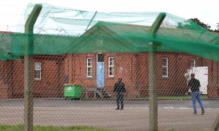 Napier barracks in Kent