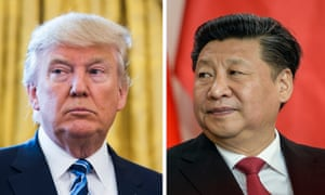 Presidents Trump and Xi, who spoke by telephone this week, somewhat easing fears of escalating tensions.