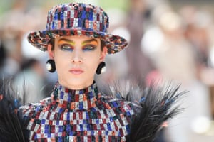 Sequins give Chanel's classic boater a new lease of life.