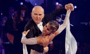 Vince Cable and Erin Boag on the 2010 Strictly Come Dancing Christmas special.