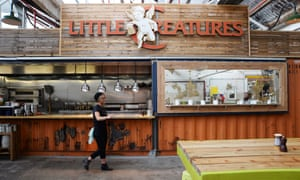the Little Creatures tap bar
