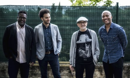 Tomasz Stanko Quartet (from left): Gerald Cleaver, David Virelles, Tomasz Stanko and Reuben Rogers.
