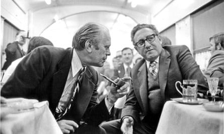 Gerald Ford and Henry Kissinger