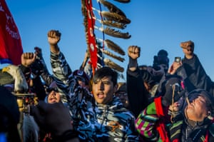 The Dakota Access Pipeline  protest