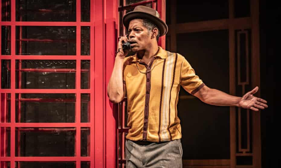 Chris Tummings as Riley in Roy Williams' Life of Riley.
