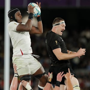 Maro Itoje was man of the match in the semi-final.